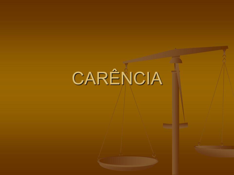 carencia